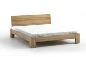 Bed SEL - ash - Wooden headrest
